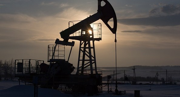 Russian Oil Drilling Platform As Specter Of $20 Oil Recedes